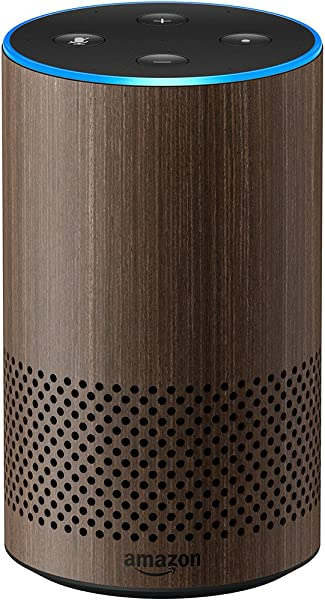 Echo 2nd Generation Smart Speaker With Alexa And Dolby Processing Limited Edition Walnut Finish