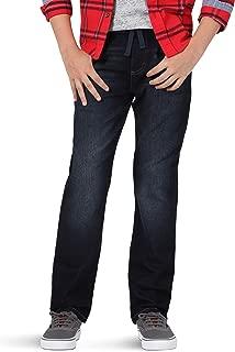 Wrangler Unisex-Child Authentics Boy's Knit Denim Jean Jeans - Blue