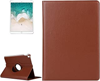 LFPING for iPad Pro 10.5 inch Litchi Texture 360 Degree Spin Multi-Function Horizontal Flip Leather Protective Case with Holder for iPad Pro 10.5 inch (Color : Brown)