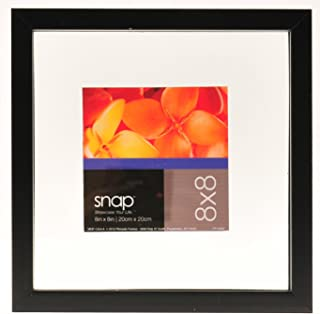 Snap 8x8 Black Float Frame for Floating Display of 6x6 Image
