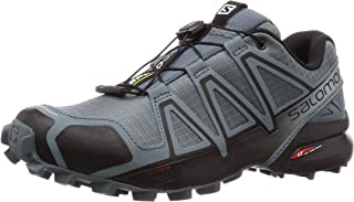 Salomon Men's Speedcross 4 Trail Running Shoes, Stormy Weather/Black/Stormy Weather, 9