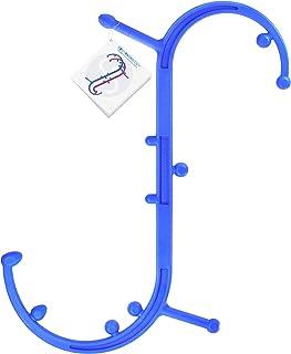 Body Back Buddy Back Massager (Blue) | Handheld Massage Stick | Trigger Point Massager