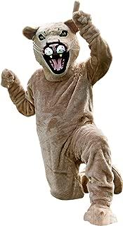 Cougar Mascot Costume Tan