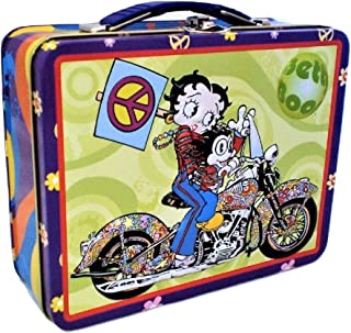Betty Boop Lunch Box Motorcycle Embossed Design