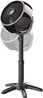 Vornado 7803 Large Pedestal Whole Room Air Circulator Fan with Adjustable Height, 3 Speed Settings, Removable Grill for Clean