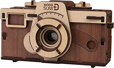 WHAT ON EARTH DIY Working Wood Pinhole Camera - Uses 35mm Film - 6