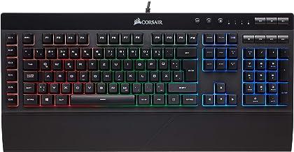 Corsair K55 Gaming Tastatur (Multi-Color RGB Beleuchtung, QWERTZ) schwarz