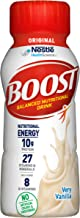 BOOST Original Complete Nutritional Drink, Very Vanilla, 8 Ounce Bottle (Pack of 24)