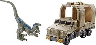 Matchbox Jurassic World Dino Transporters Armored Raptor Hauler