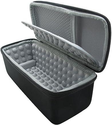 co2CREA maletín de transporte para almacenamiento de altavoz inalámbrico portátil con Bluetooth Bose Soundlink SL Mini 1 y 2 (I y II Gen), tiene capacidad para funda blanda/cargador/soporte/cable