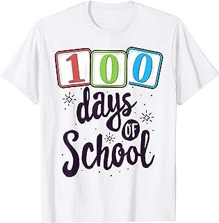 100 Days of School Teacher T-Shirt Costume Kindergarten T-Shirt