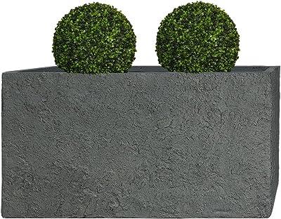Pflanzwerk ® porta vaso fioriera /& trogolo /& Fiori Vaso-LAVA ANTRACITE