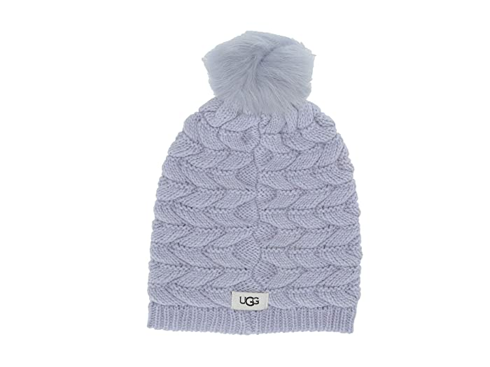UGG  Cable Hat with Pom (Fresh Air) Beanies