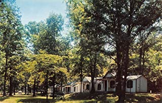 Cumberland Maryland Belle Grove Cabins Street View Vintage Postcard K86790