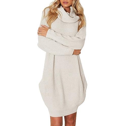 Turtleneck Sweater Dresses Amazoncom