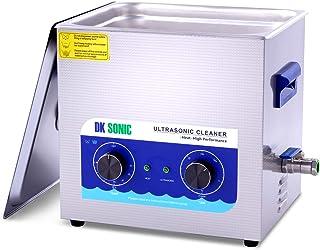 DK SONIC Professional 10L Digital Pulitore ad ultrasuoni con funzione di degasaggio per la pulizia Carburatori Gioielli Oc...