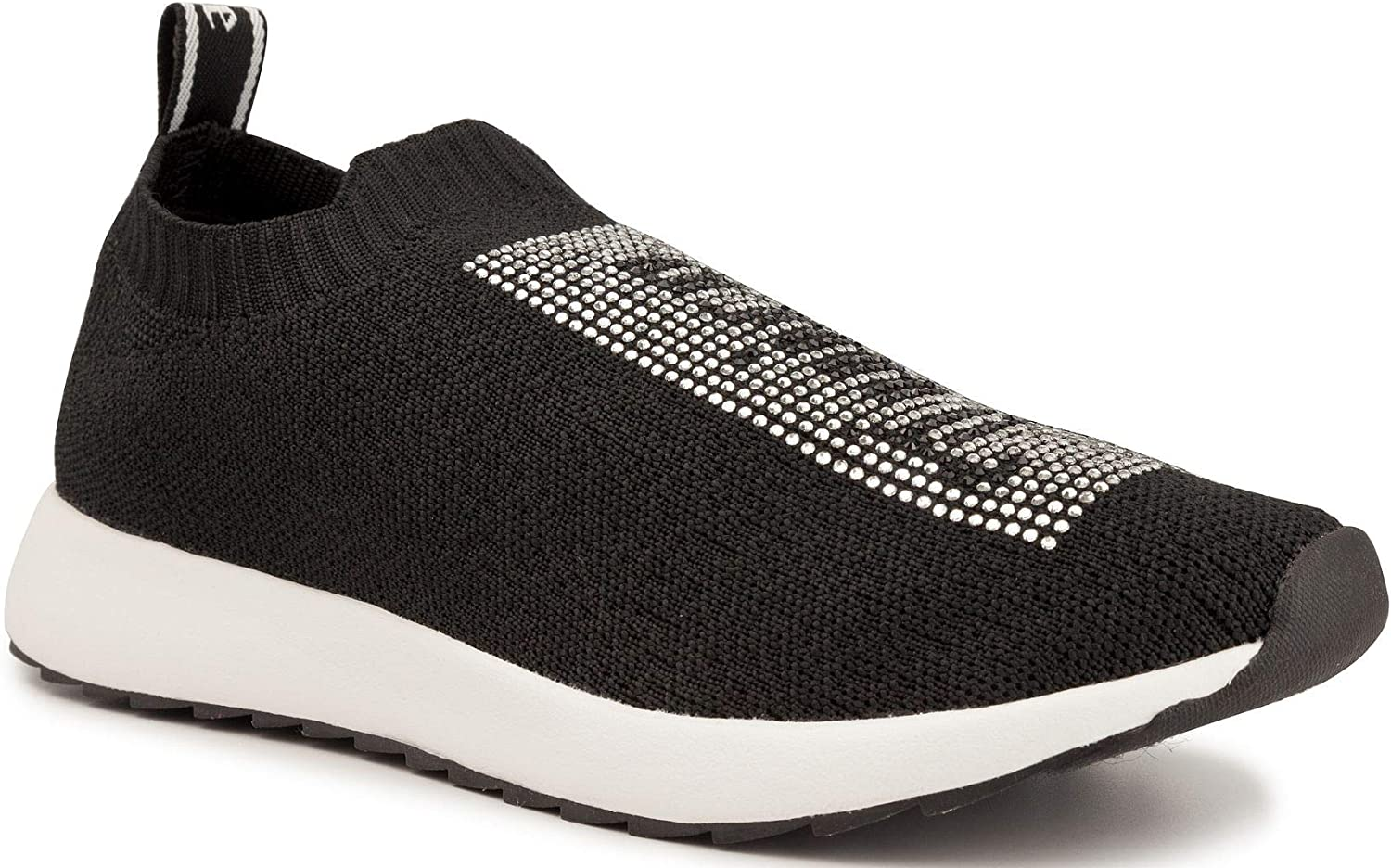Juicy Couture Women's Charmed Comfortable Slip On Sneaker Shoe with No-Tie Laces and Cute Design
