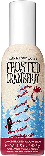 Bath And Body Works Frosted Cranberry Concentrated Room Spray 1 5 Ounce 2018 Edition