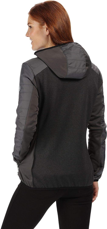 Regatta Womens Haska Hybrid Water Repellent Wind Resistant Long Length Softshell Jacket Carcasa suave Mujer
