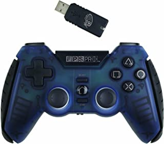 Mad Catz F.P.S. Pro Wireless GamePad for PlayStation 3 - Swat Blue
