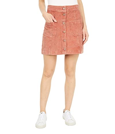 Roxy Warning Sign Skirt (Auburn) Women