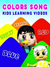 Colors Song Kids Learning Videos