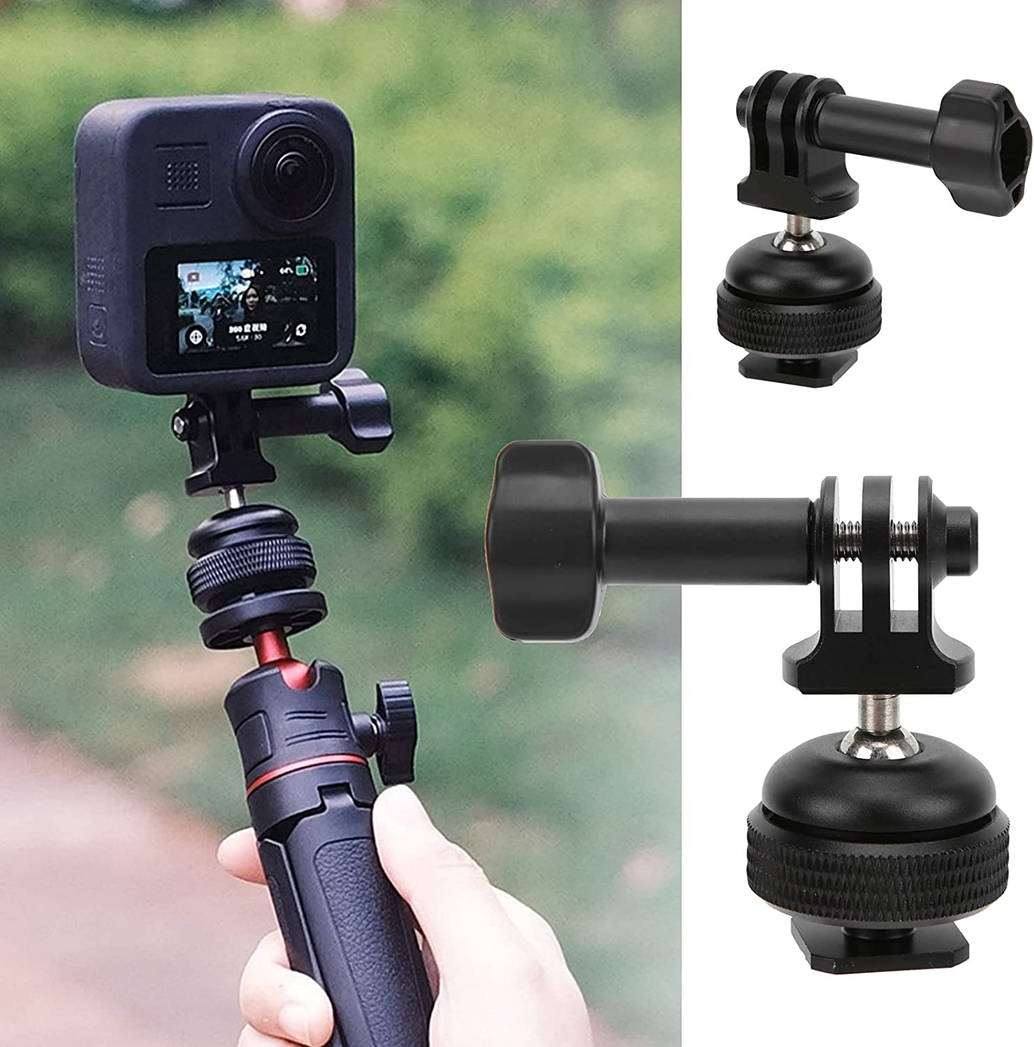 Gedourain Mini Special Campaign Camera 360 Degree Popular shop is the lowest price challenge Ball Rotation Head 36 Adjusted
