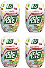 tic tac Fruit Adventure Bottle Pack, 3.4-Ounce / 200 Count (Pack of 4) 800 Total