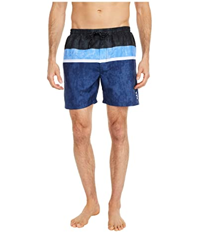 TYR Horizon Atlantic Shorts (Black/White/Blue) Men