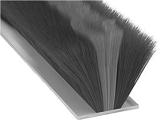 comprar comparacion Stormguard 05SR750007MGR Burlete de cepillo, ideal para puerta de garaje, autoadhesiva, 7m, color negro