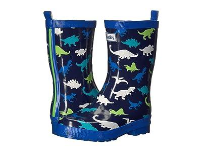Hatley Kids Dino Herd Rain Boots (Toddler/Little Kid) (Blue) Boy