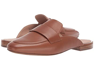 LINEA Paolo Annie Slip-On Mule (Cognac Leather) Women