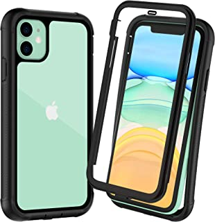 OTBBA iPhone 11 Case, Full-Body with Built-in Screen Protector Heavy Drop Protection..