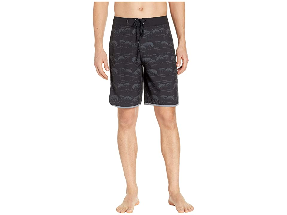 Hurley Phantom Oak Street 20 Boardshorts (Black) Men