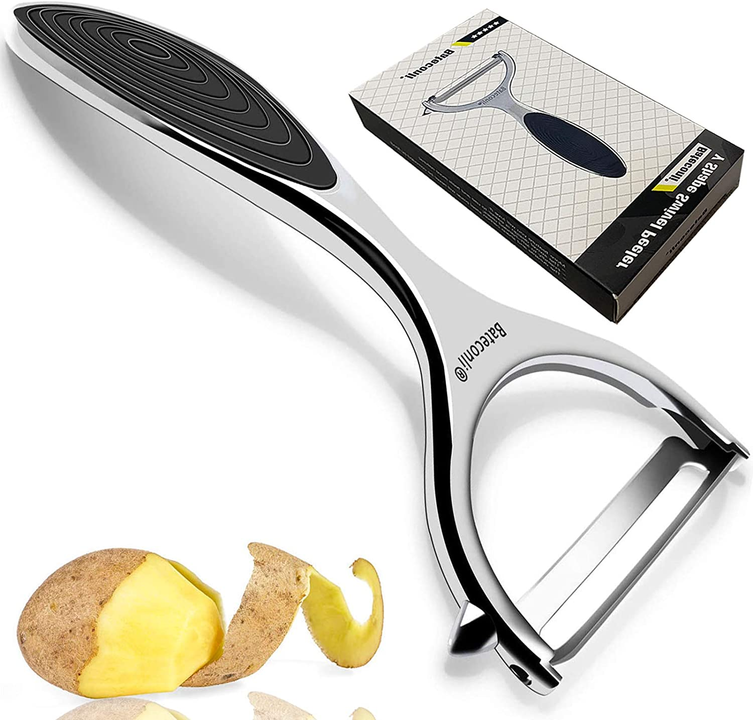 100% quality Mesa Mall warranty Potato Vegetable Peeler for Kitchen Built Blemish Remover In -