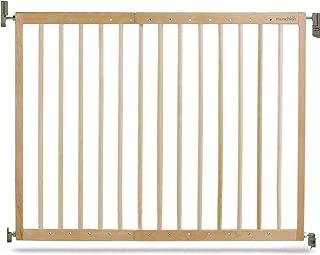 Munchkin Barrera de seguridad de madera, con fijación a la