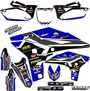 2000-2007 TTR 125, Podium Blue Complete kit, Senge Graphics, Compatible with Yamaha