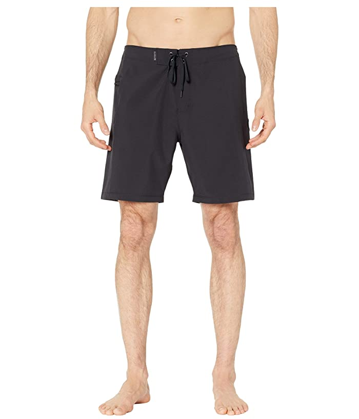 Hurley 18 Phantom One and Only Stretch Boardshorts (Black) Men