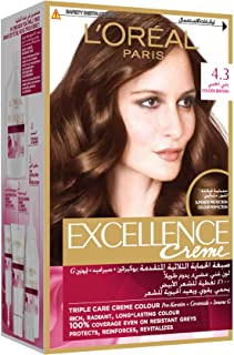 Loreal Excellence Hair Color - 4.3 Golden Brown
