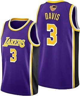James Davis Kuzma Howard Rondo ジェームズ・デイビスクズマハワードロンドバスケットボールジャージー、2020 Lakers レイカーズ23#3#メンズジャージースポーツで決勝サインオン、ユニセックス通気性のベストシ...
