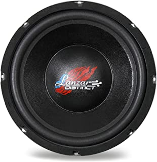 Lanzar 10in Car Subwoofer DVC - IB Open Air Audio Stereo Speaker, 4 Ohm Impedance, Steel Basket, 240 Watt Power, Non-Pressed Paper Cone and Foam Surround for Vehicle Sound System - DCTOA10D