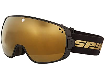 Spy Optic Bravo (25Th Anniv Black Gold Hd Plus Bronze w/ Gold Spectra Mirror +) Snow Goggles
