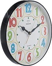 Dojana Wall Clock, Black, DWG323