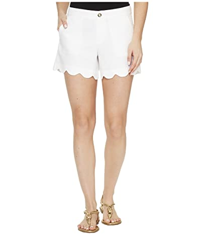 Lilly Pulitzer Buttercup Shorts (Resort White) Women