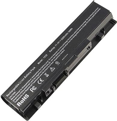 RayWEE Laptop-Batterie f r Dell Studio 15 1535 1536 1537 1555 1557 1558 Series KM904 KM905 MT264 MT276 PW773 WU946 WU960 WU965 5200mAh Schätzpreis : 19,99 €