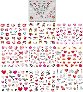 Best valentine nail stickers Reviews
