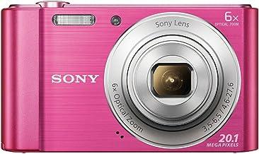 Sony DSC-W810 Fotocamera Digitale Compatta con Sensore Super HAD CCD da 20.1 MP, Zoom Ottico 6x, Video HD, Rosa