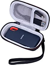 LTGEM EVA Hard Case for SanDisk Extreme 250GB Portable SSD (SDSSDE60-250G-G25) Travel Protective Carrying Storage Bag