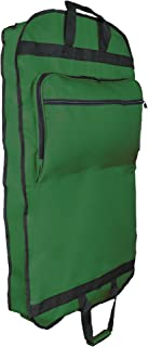 green garmento bag
