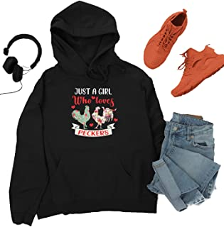 Just A Girl Who Loves Peckers 1 Hoodie BH01_13